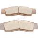 Front Brake Pads - 1721-2492
