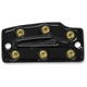 Black Anodized Bomber Series Rear Master Cylinder Cover - MC-ISR-B
