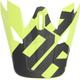 Visor for Blue/Lime Sector Level Helmet - 0132-1129