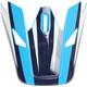 Visor for Navy/Blue Sector Ricochet Helmet - 0132-1132