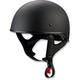 Gloss Black CC Beanie Helmet