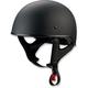 Flat Black CC Beanie Helmet