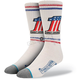 White Harley Davidson Number One Socks - M330C15FRE-LG/XL