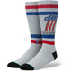 Gray Harley Davidson Number One Socks - M656D16NUM-LG