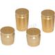 Brass Shell Casing Magnetic Docking Station Caps - DSC-SC-SET