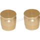 Brass Short Shell Casing Magnetic Docking Station Caps - DSC-SC-S