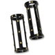 Black Anodized Bomber Series Fork Slider Covers - FC-BSIS-B