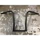 Black 12 in.  Gimp Hangers Handlebars - 12IGBDK