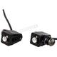 Black Single Rat Eye LED Turn Signals w/Red Lights - 05-206-RB