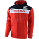 Red Honda Zip-Up Hoody