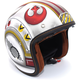 FlatWhite/Red IS-5 X-Wing Fighter Pilot MC-1F Helmet
