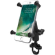 Handlebar Rail Mount w/X-Grip Holder - RAMB149Z-UN10U