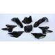 Black Complete Plastic Restyle Kit - 90718