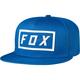 Blue Fumed Snapback Hat - 20382-002-OS