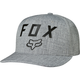 Heather Gray Number 2 FlexFit Hat