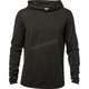 Black Vintage Cryo Hooded Tech Long Sleeve