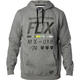 Heather Graphite District 2 Pullover Hoody