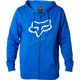 Blue Legacy Fox Head Zip Hoody