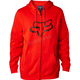 Flame Red Legacy Fox Head Zip Hoody