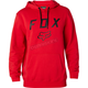 Flame Red Legacy Moth Pullover Hoody