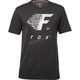Heather Black Fade to Track Tech T-Shirt