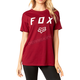 Women's Dark Red District Crew T-Shirt