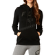 Women's Black District Pullover Hoody