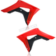 Red/Black Radiator Shrouds - 2630661018