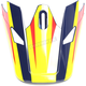Visor for Navy/Yellow Sector Ricochet Helmet - 0132-1134