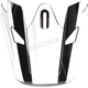 Visor for White/Gray Sector Ricochet Helmet - 0132-1135