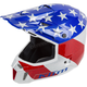 Red/White/Blue Patriot F3  Helmet