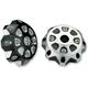 Black Aluminum Gas Cap - 0703-0336