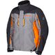 Gray/Orange Valdez Parka