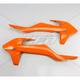Orange Radiator Covers  - KT04061-127