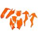 Fluorescent Orange Complete Body Kit - KTKIT517-FFLU