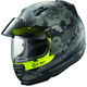 Yellow Frost Defiant Pro-Cruise Mimetic Helmet