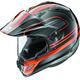 Orange XD-4 Distance Helmet
