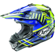 Blue VX-Pro4 Shooting Star Helmet