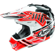 Red VX-Pro4 Shooting Star Helmet