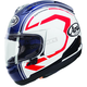 White/Blue Corsair-X Statement Helmet