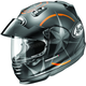 Orange Frost Defiant Pro-Cruise Mantiz Helmet