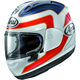 White/Red/Blue Corsair-X Spencer 30th Anniversary Helmet