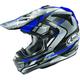 Blue VX-Pro4 Bogle Helmet