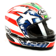 Red/White/Blue Corsair-X Nicky-6 Helmet