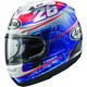 Red/Blue Corsair-X Dani-4 Helmet