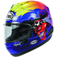 Blue/Red/Yellow Corsair-X Russell Helmet