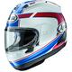 White/Blue Corsair-X Schwantz 93 Helmet