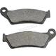 Organic Brake Pads - 1720-0568