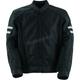 Black Venturi Mesh Jacket