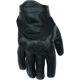 Black Tech Rider Gloves
